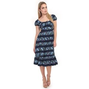 COLLECTIF Floral Gypsy Dress S